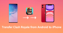 Transfer Clash Royale from Android Device to iPhone