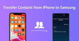 Switch Contacts from iPhone to Samsung Galaxy