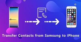 Μεταφορά επαφών από τη Samsung στο iPhone