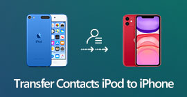 Trasferisci contatti da iPod a iPhone