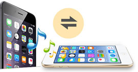 Come trasferire file musicali / audio da iPod a iPhone