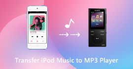 Transfer iPod Music to MP3 Player