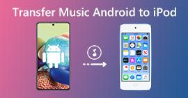 Přenos hudby z přehrávače iPod do systému Android