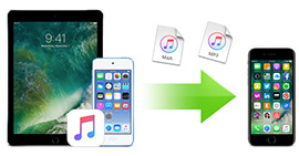 Trasferisci musica da iPad / iPod a iPhone