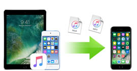 Trasferisci iPad Music su iPad