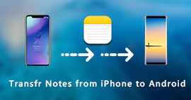 Trasferisci le note da iPhone ad Android