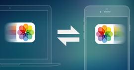 Μεταφορά φωτογραφιών μεταξύ iPhone και υπολογιστή