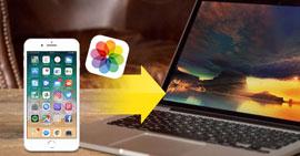 Trasferisci foto da iPhone a laptop