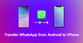 Trasferisci WhatsApp da Android a iPhone