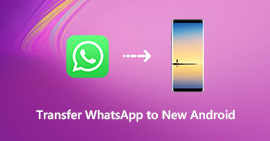 Transfer WhatsApp Conversation from Android to Android