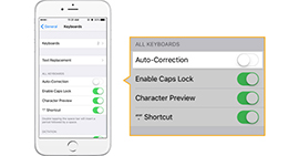 How to Turn Off Autocorrect on iPhone 5/6/SE