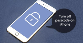 Turn off Passcode