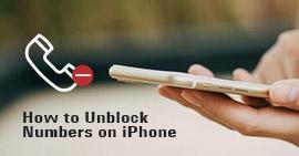 Αποκλεισμός αριθμών στο iPhone