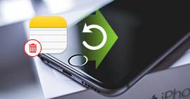 Annullare l'eliminazione di note su iPhone