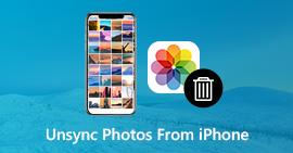 Κατάργηση συγχρονισμού φωτογραφιών από το iPhone