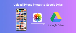 Upload iPhone Photos to Google Drive