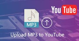 Carica MP3 su YouTube