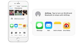 Use AirDrop