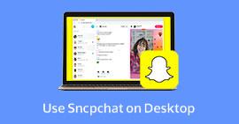 Χρησιμοποιήστε το Snapchat στην επιφάνεια εργασίας