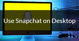Usa Snapchat sul desktop