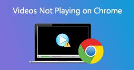 Napraw filmy, które nie są odtwarzane w Chrome
