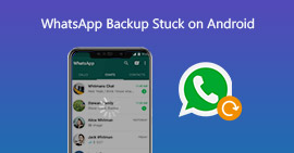 WhatsApp Backup Stuck σε Android