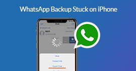 Whatsapp Backup Stuck on iPhone