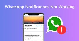 Οι ειδοποιήσεις WhatsApp δεν λειτουργούν