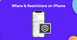Where Is Restrictions on iPhone