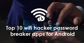 Wifi hacker password breaker