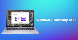 USB di ripristino di Windows 7