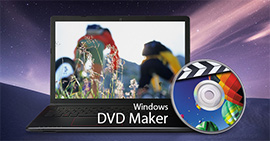 Εγγραφή DVD με Windows DVD Maker