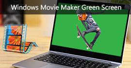 Schermo verde di Windows Movie Maker