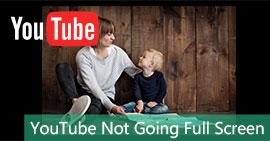 Η πλήρης οθόνη του YouTube δεν πηγαίνει