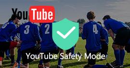 Modalità di sicurezza di YouTube