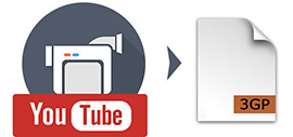 Converti YouTube in 3GP