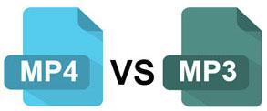 MP4 VS MP3