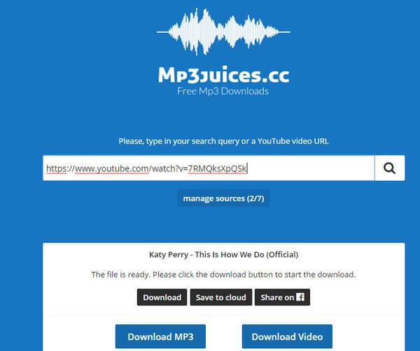 Downloader e motore MP3
