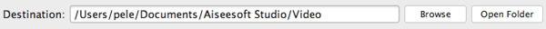 Destinazione Mac MP4