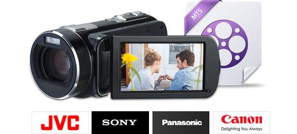 Pliki MTS z urządzeń JVC / Sony / Canon / Panasonic