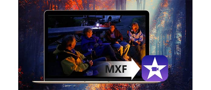 Μετατροπή MXF σε iMovie σε Mac