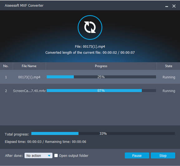 MXF File Converter – Convert MXF Online/Mac/Windows