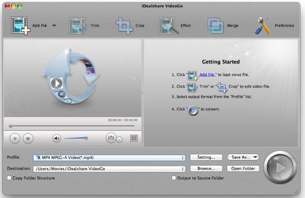 iDealshare VideoGo per Mac