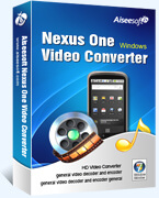 Nexus One Video Converter box