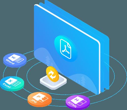 Μετατροπή PDF σε πολλαπλές μορφές