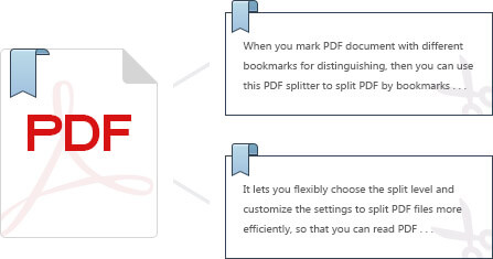 Extract PDF pages by bookmarks