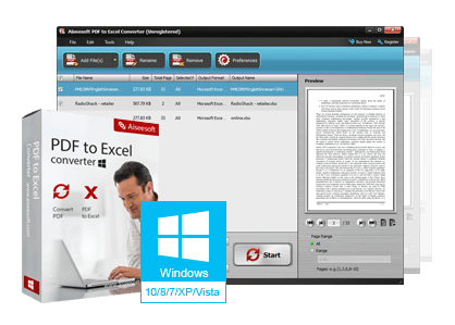 Aiseesoft Pdf To Excel Converter 3.3.6-Multilingual
