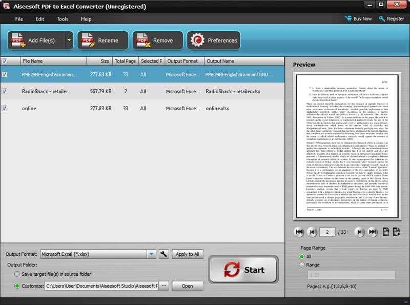 Carica file PDF
