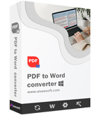 Aiseesoft PDF to Word Converter boxshot
