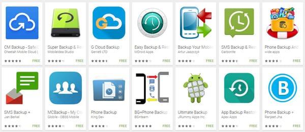App di backup del telefono